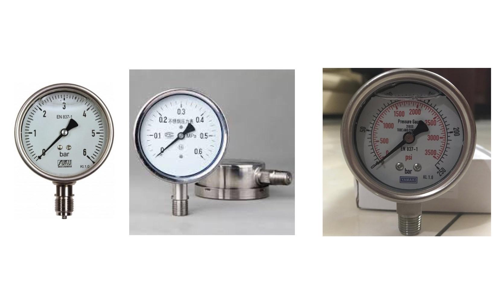 Cách chuyển đổi đơn vị áp suất