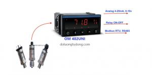 Bộ hiển thị áp suất OM 402UNI