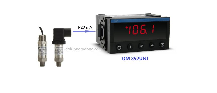 Bộ hiển thị áp suất OM 352UNI
