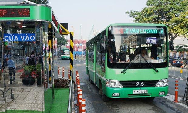 Kiểm soát hoạt động ra vào bến của xe buýt công nghệ nhận dạng RFID.