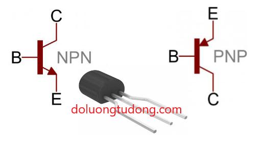 Xác định chân của Transistor