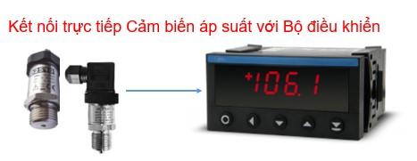 Bộ điều khiển - hiển thị cảm biến áp suất 0-1.6 Mpa