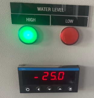 Hiển thị mức nước OM352UNI