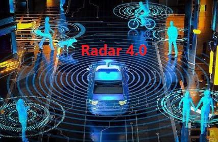 Radar cho xe tự lái - Radar 4.0