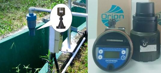 Cảm biến đo mức siêu âm - đo mức nước