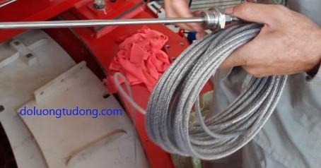 Cảm biến nhiệt độ PT100 dạng dây