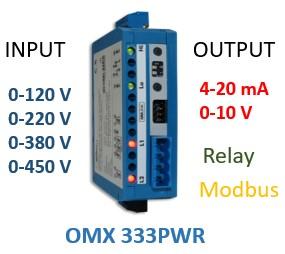 Bộ chuyển áp AC sang 4-20ma