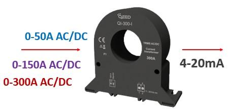 Bộ chuyển dòng AC/DC sang 4-20mA
