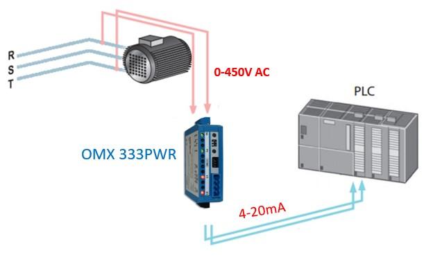 Bộ chuyển đổi điện áp sang 4-20mA