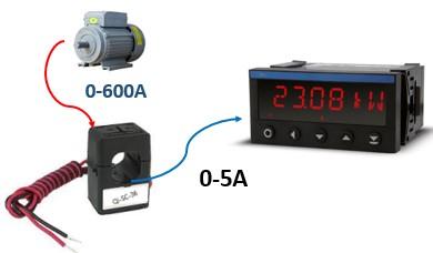 Bộ biến dòng 600A sang 5A